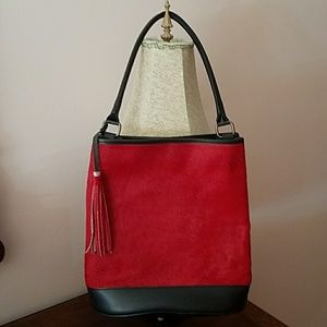 Handbags - Italian Genuine Leather Calf Hair